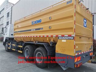 Powder Lime Spreader Truck Road Construction Machinery XKC163 5kg/M2 - 40kg/M2